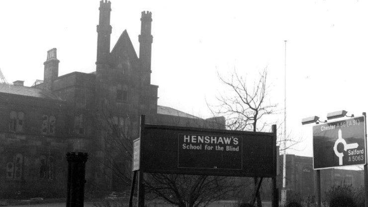 Image of Henshaws School for the blind in 1930