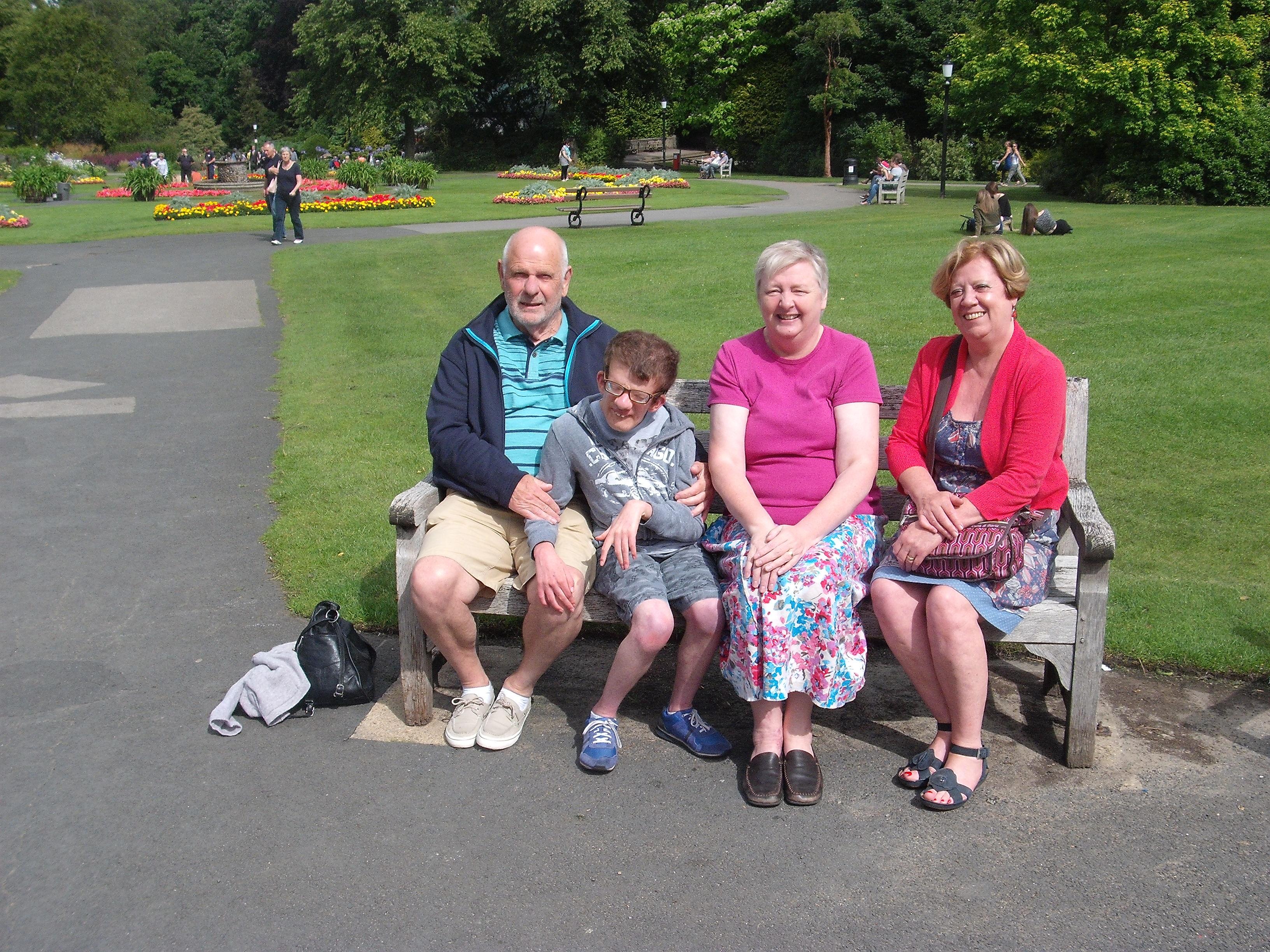 Alec, Edward, Annette and Carole