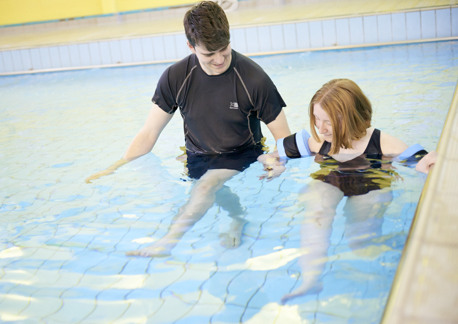 disability support services hydrotherapy session