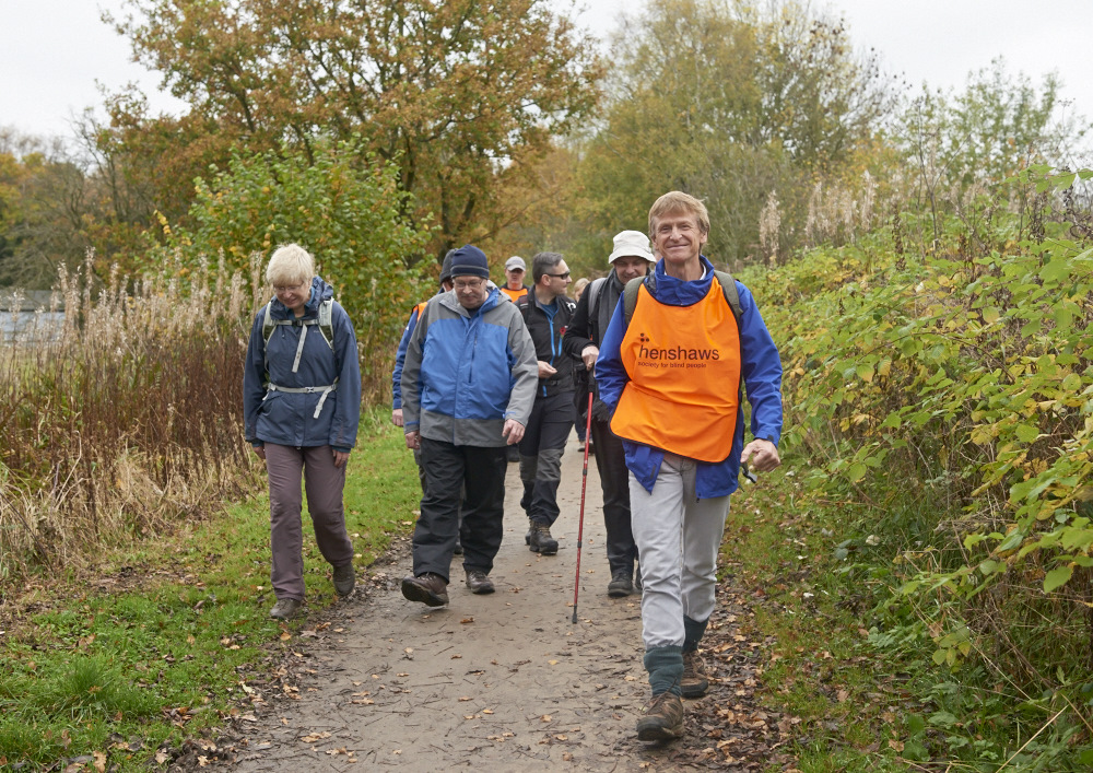 Image of Hiking group on a walk