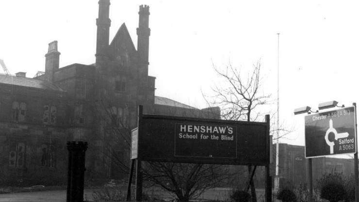 Henshaws school for the blind - historic picture