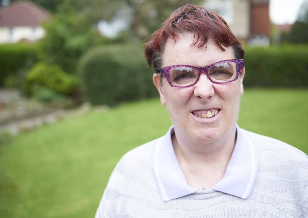 Anita headshot, in garden