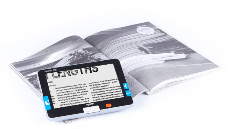 Image of an Optelec magnifier