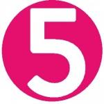 5 in circle