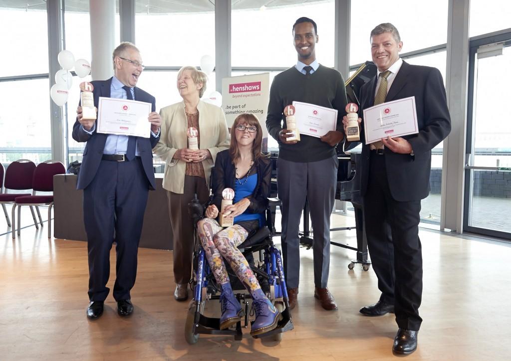Henshaws awards 2016