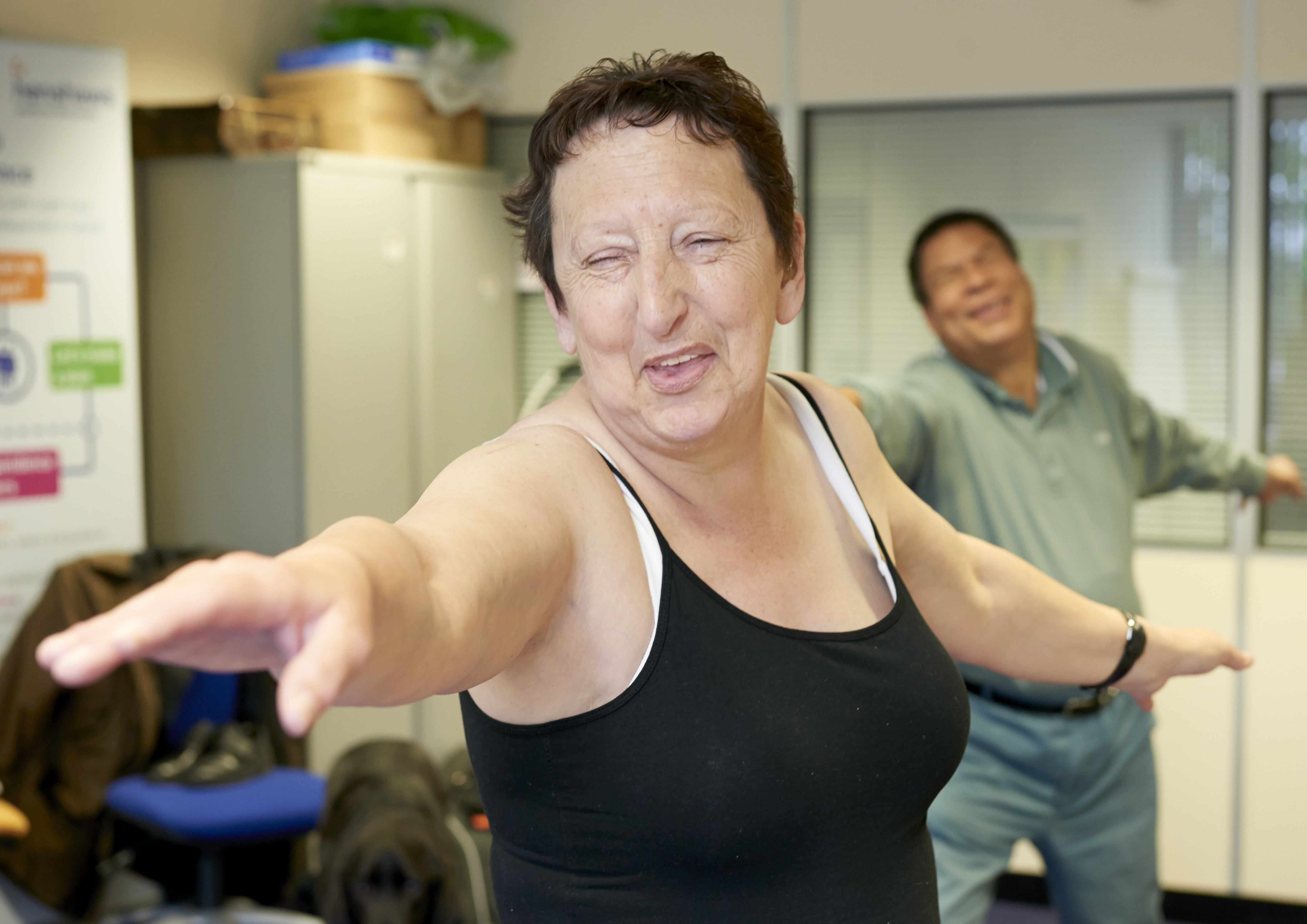 Five ways to exercise when you have a visual impairment ...