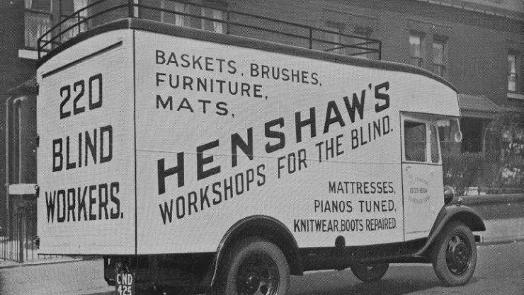 Henshaws Van from 1935