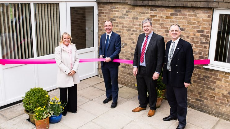 Councillor Richard Cooper, Leader of Harrogate Borough Council, officially opens 2 The Drive
