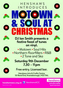 Poster for the Motown and Soul event