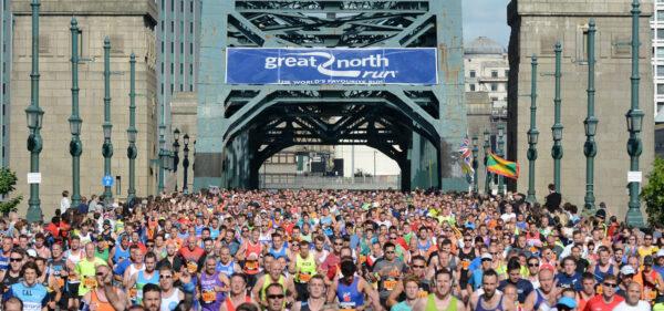 Photo of Great North Run runners