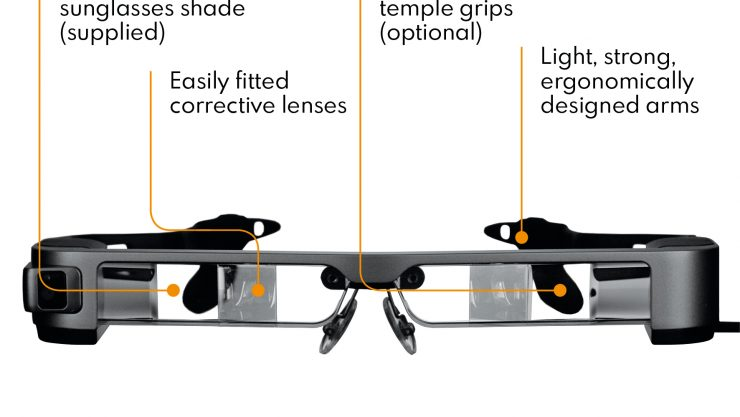 OXSIGHT Crystal glasses shown in profile with different features highlighted