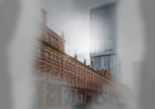 The Beetham Tower as seen by somebody with Retinitis Pigmentosa