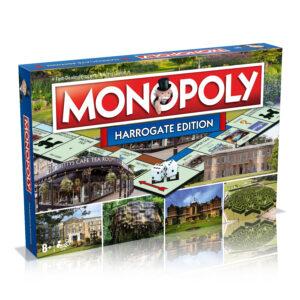 Harrogate Monopoly board game box