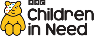 Logo of BBC Children in Need supports Henshaws Charity for the Blind in Manchester