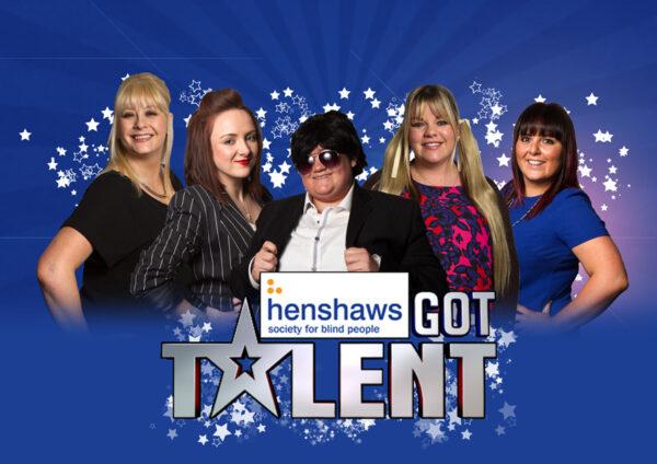 Henshaws Got Talent Poster