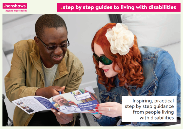 Henshaws Step by Step Guide to Living with Disabilities