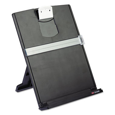 Photo of a document holder, one useful gadget for sight loss