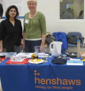 Photos of Henshaws volunteers
