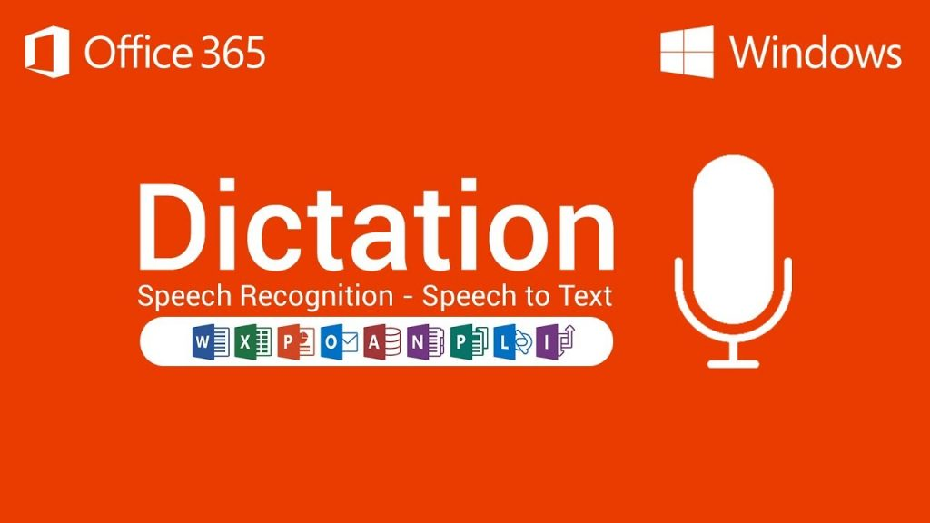 Office 365 dictation