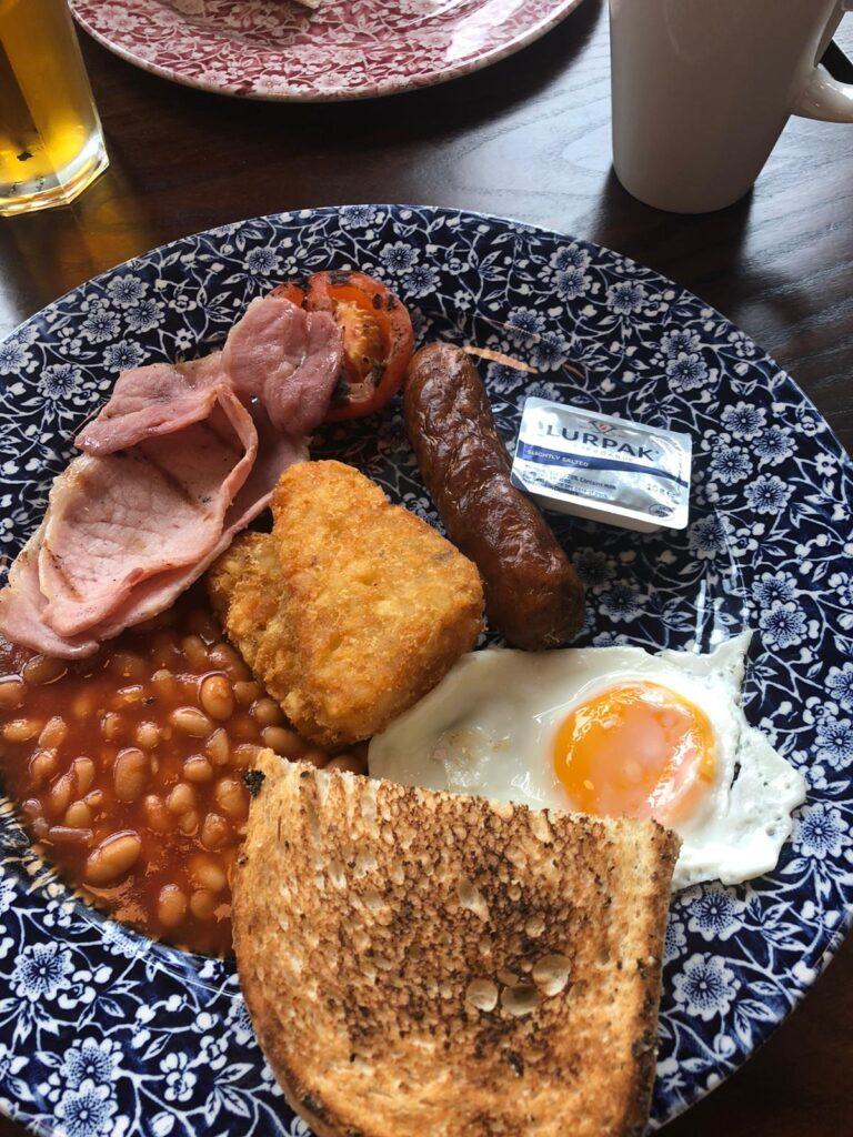 Wetherspoons breakfast