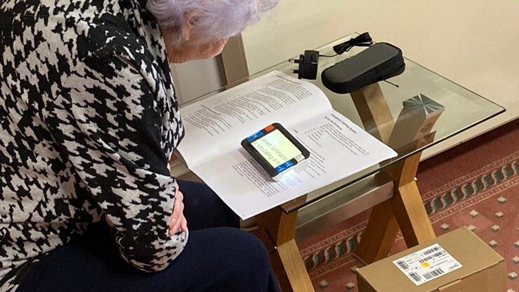Marjorie digital magnifier