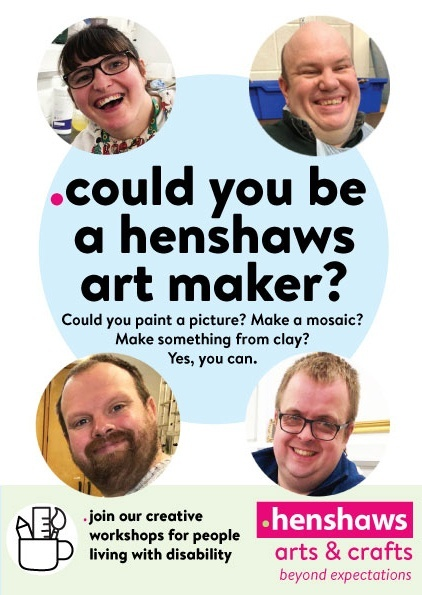 Could you be a Henshaws Art Maker?