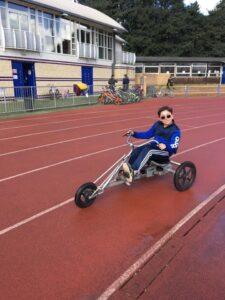 Cycling at Longford Park